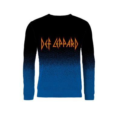 Def Leppard Knitted Jumper (Lrg)