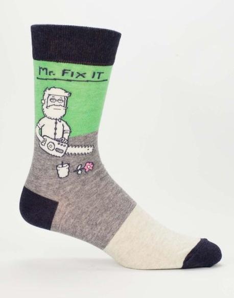 Mr Fix It Socks Mens