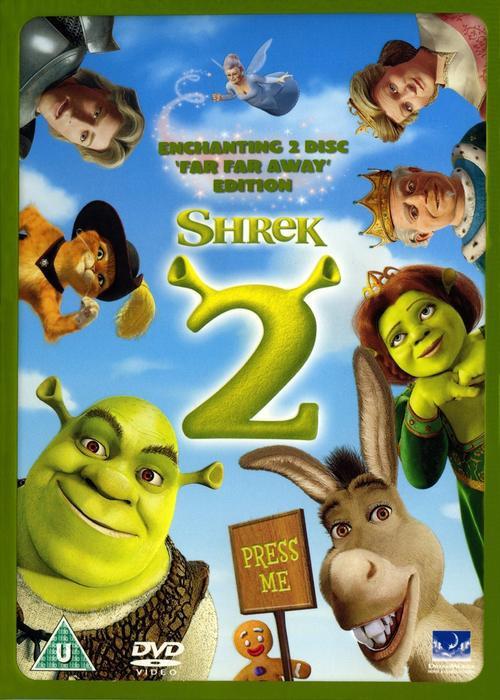 Shrek 2 - Far Far Away Edition (2 Dvd Set / Fold Out Slipcase)