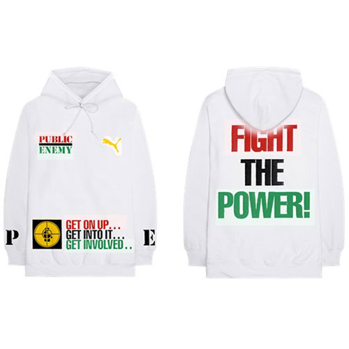 Public Enemy (XL) Pullover Hoodie: Fight The Power (Back Print)