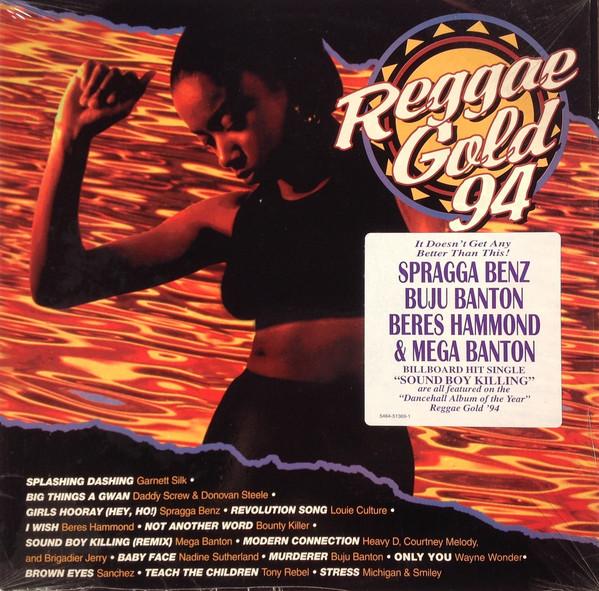 Various Reggae Artists: Reggae Gold 1994 - Gold Vinyl - Real