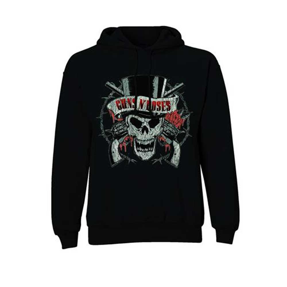 Guns N Roses (Lrg) Top Hat Hoodie Sweatshirt