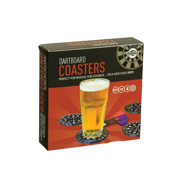 Dart Board Coasters Silicone Beer Coaster