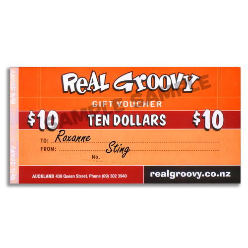 Real Groovy $10 Voucher