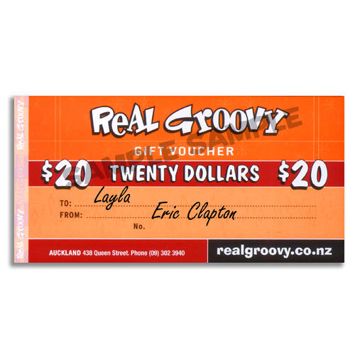 Real Groovy $20 Voucher