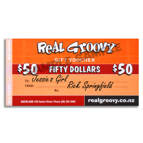 Real Groovy $50 Voucher