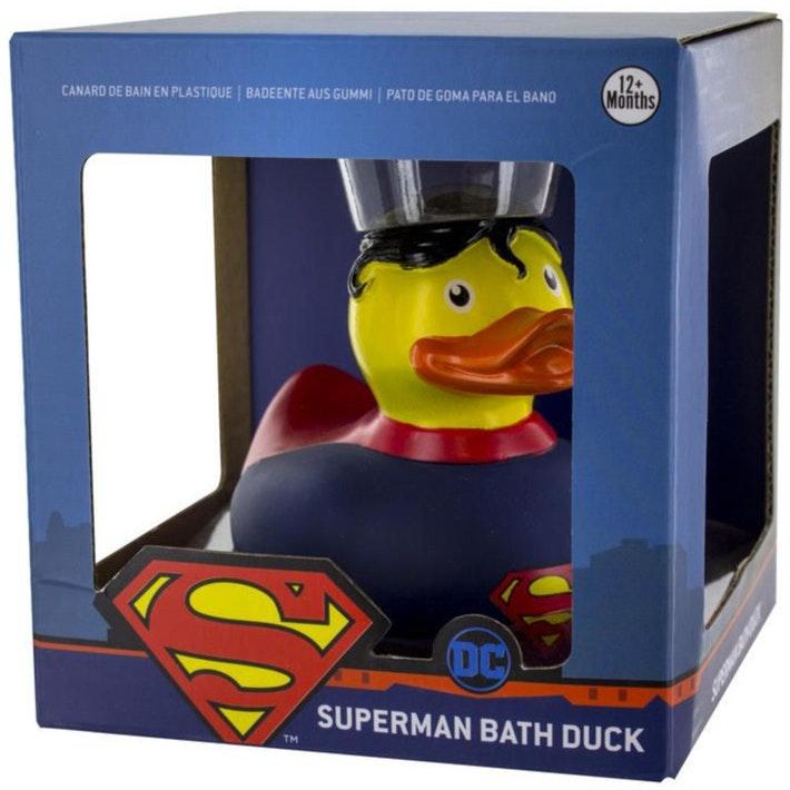 Superman Bath Duck Dc Comics