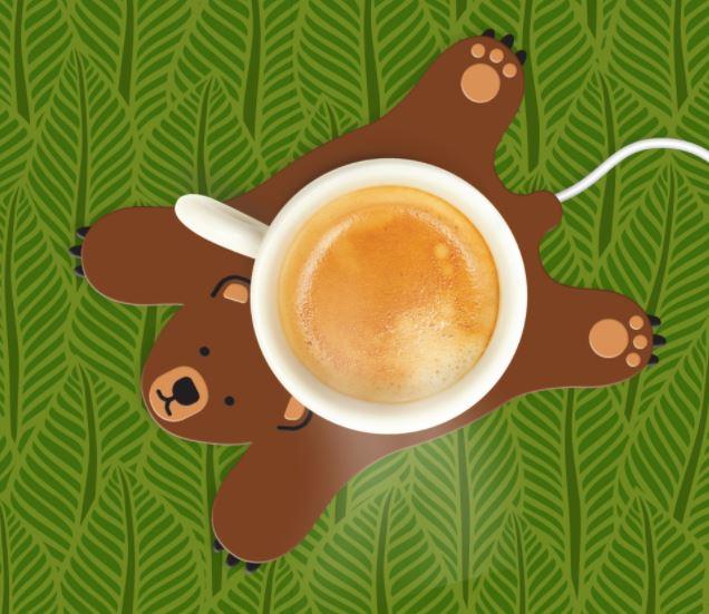 Cup Warmer Usb Sleepy Bear