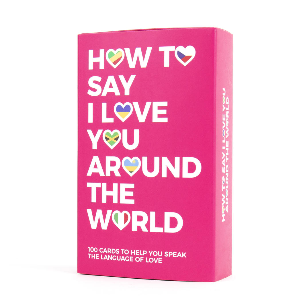 How To Say I Love You Languages Card Deck