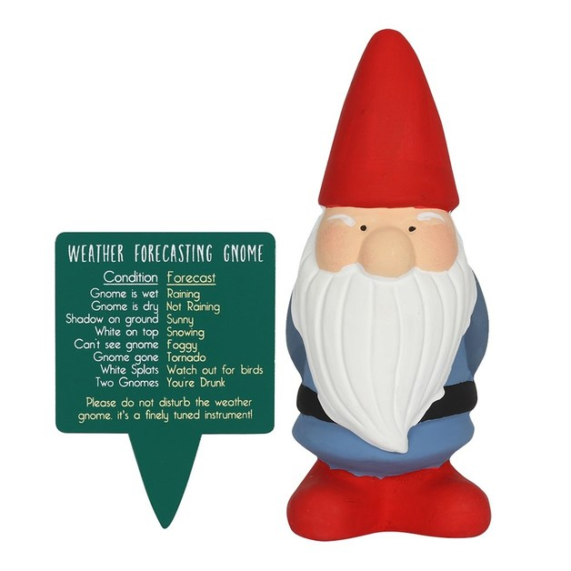 Weather Forcasting Gnome Figurine Assorted