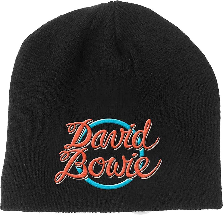 David Bowie Logo Beanie