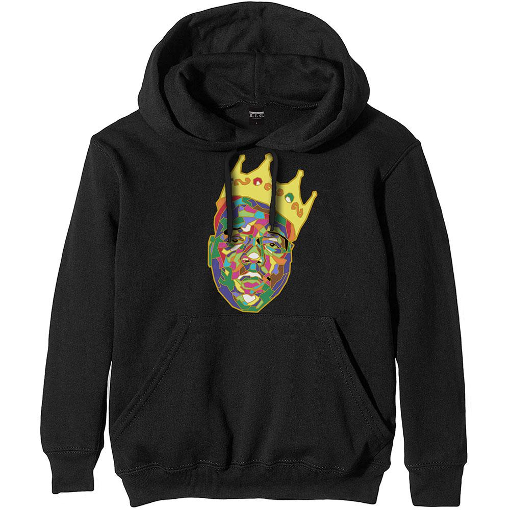 Biggie Smalls (XL) Pullover Hoodie: Crown