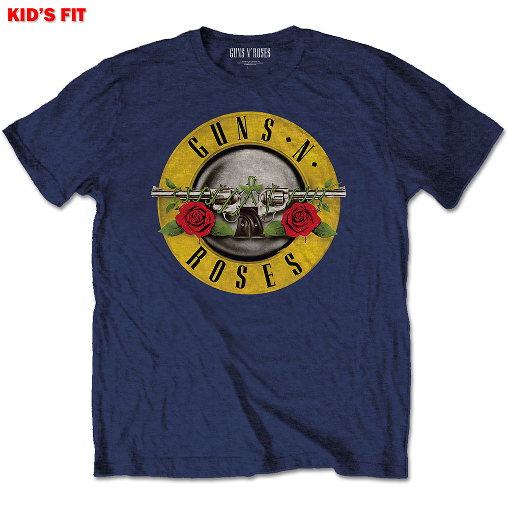 Guns N Roses Kids (9-11) Navy Tee