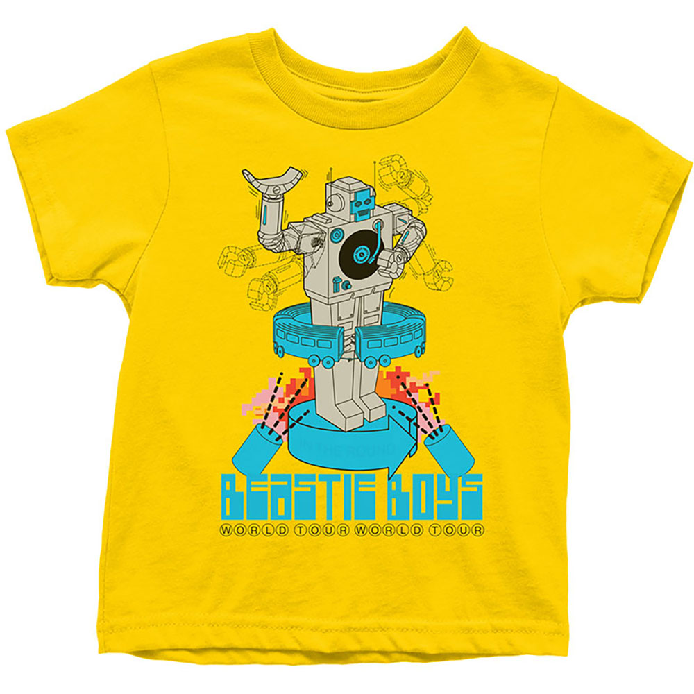 Beastie Boys Kids Tee: Robot 7 - 8 Years