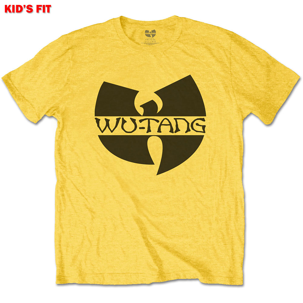 Wutang Clan Kids (XS) Yellow Tee 3-4yrs