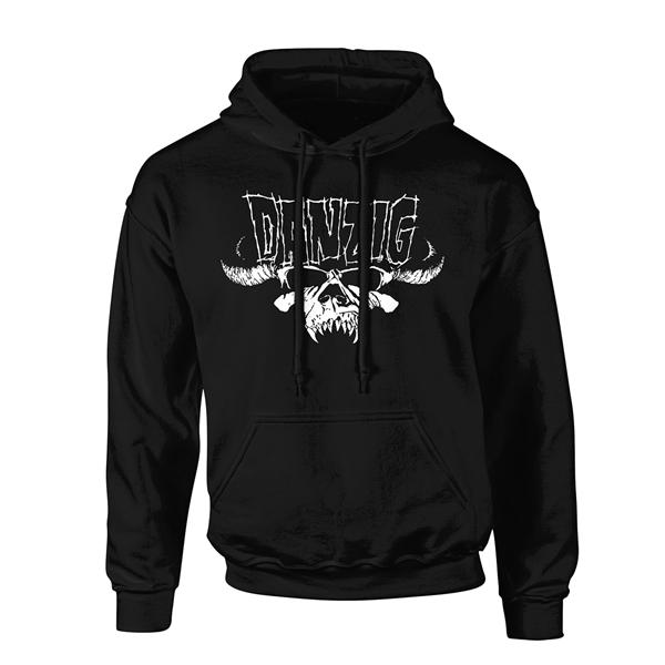 Danzig (Lrg) Classic Logo Hoodie Sweatshirt