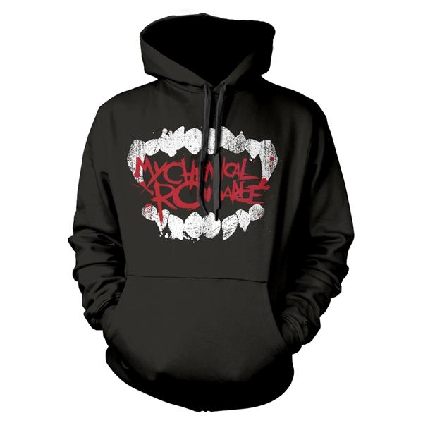 My Chemical Romance (Med) Fangs Hoodie Sweatshirt