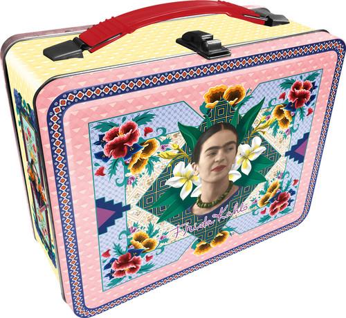 Frida Kahlo Tin Box Carry All Box Makeup Box