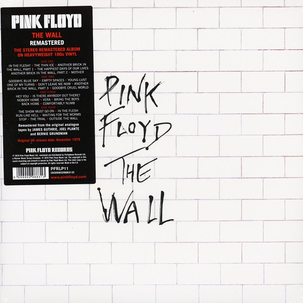Pink Floyd: Wall (remastered) (vinyl) - Real Groovy