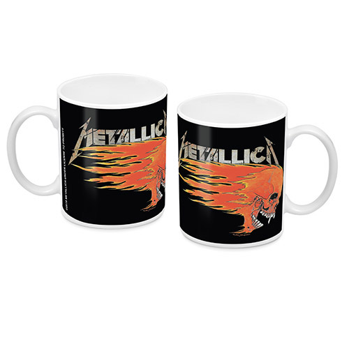 Metallica Skull Mug