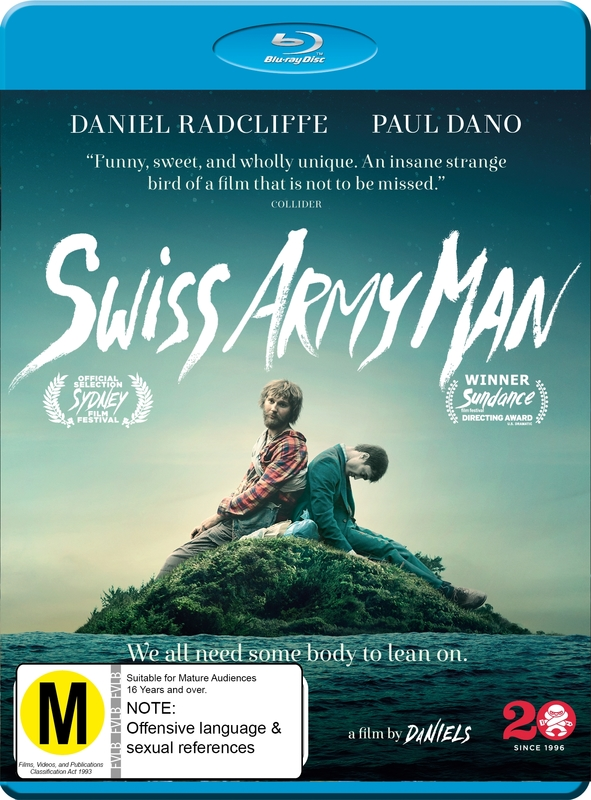Swiss Army Man: Swiss Army Man (blu - Ray Dvd) - Real Groovy