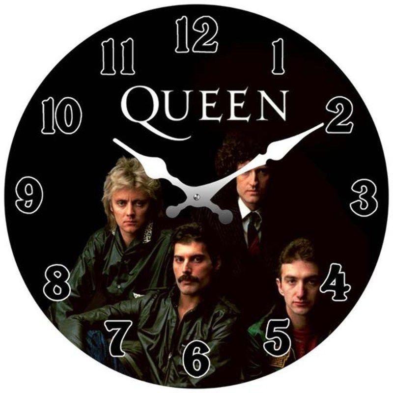Queen Glass Clock Mini 17cm