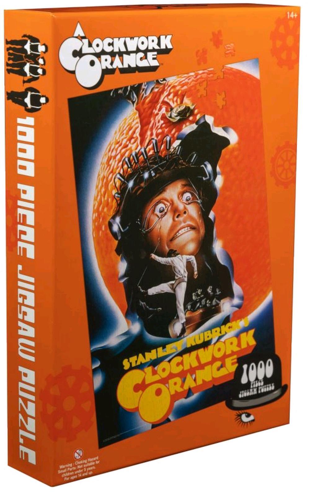 A Clockwork Orange - Kubrick Poster 1000 Piece Jigsaw Puzzle