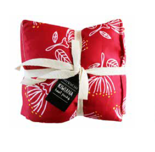 Kiwiana Pohutukawa Red Wheat Bag Heat Ups