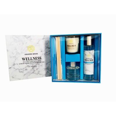 Fragrance Gift Set Sea Salt And Bergamot Set