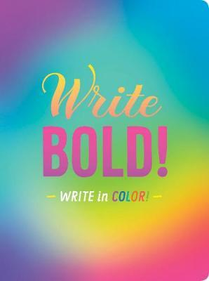 Write Bold Write In Colour Journal