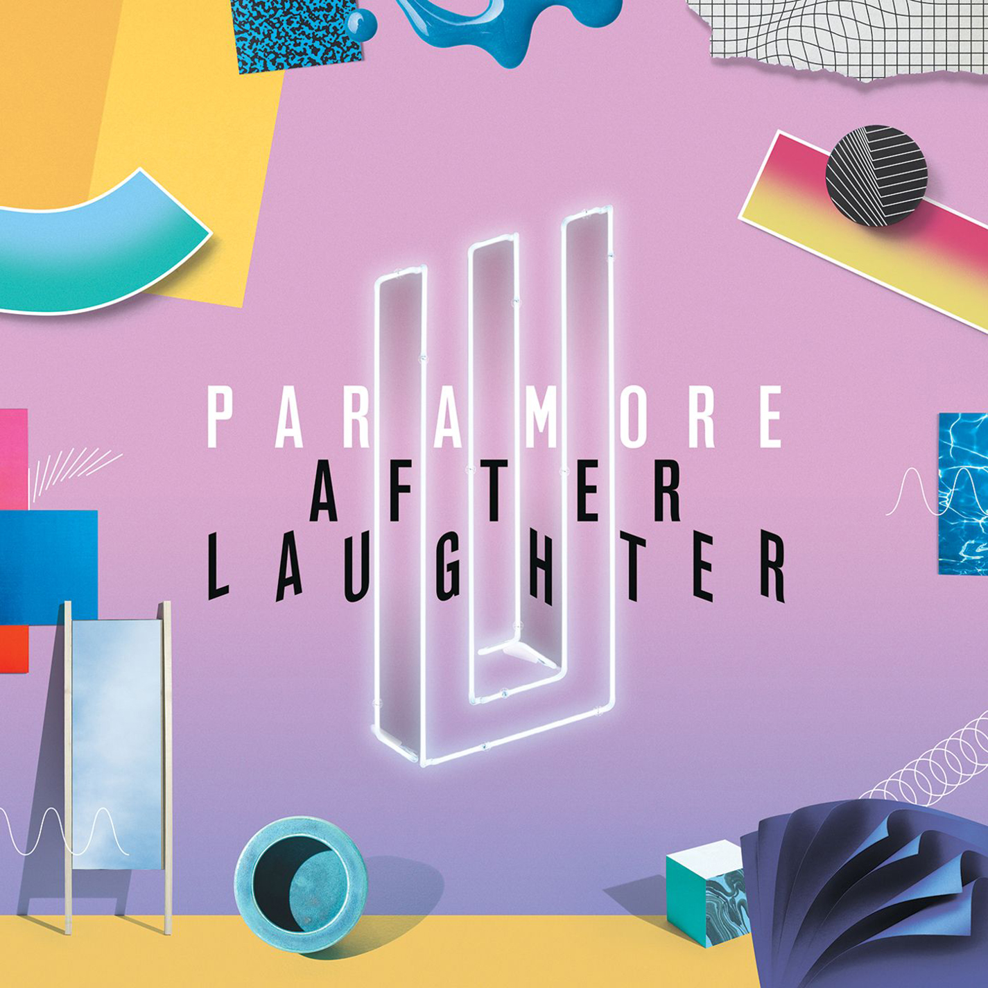 After Laughter (Black And White Marbled Edition) (Vinyl)