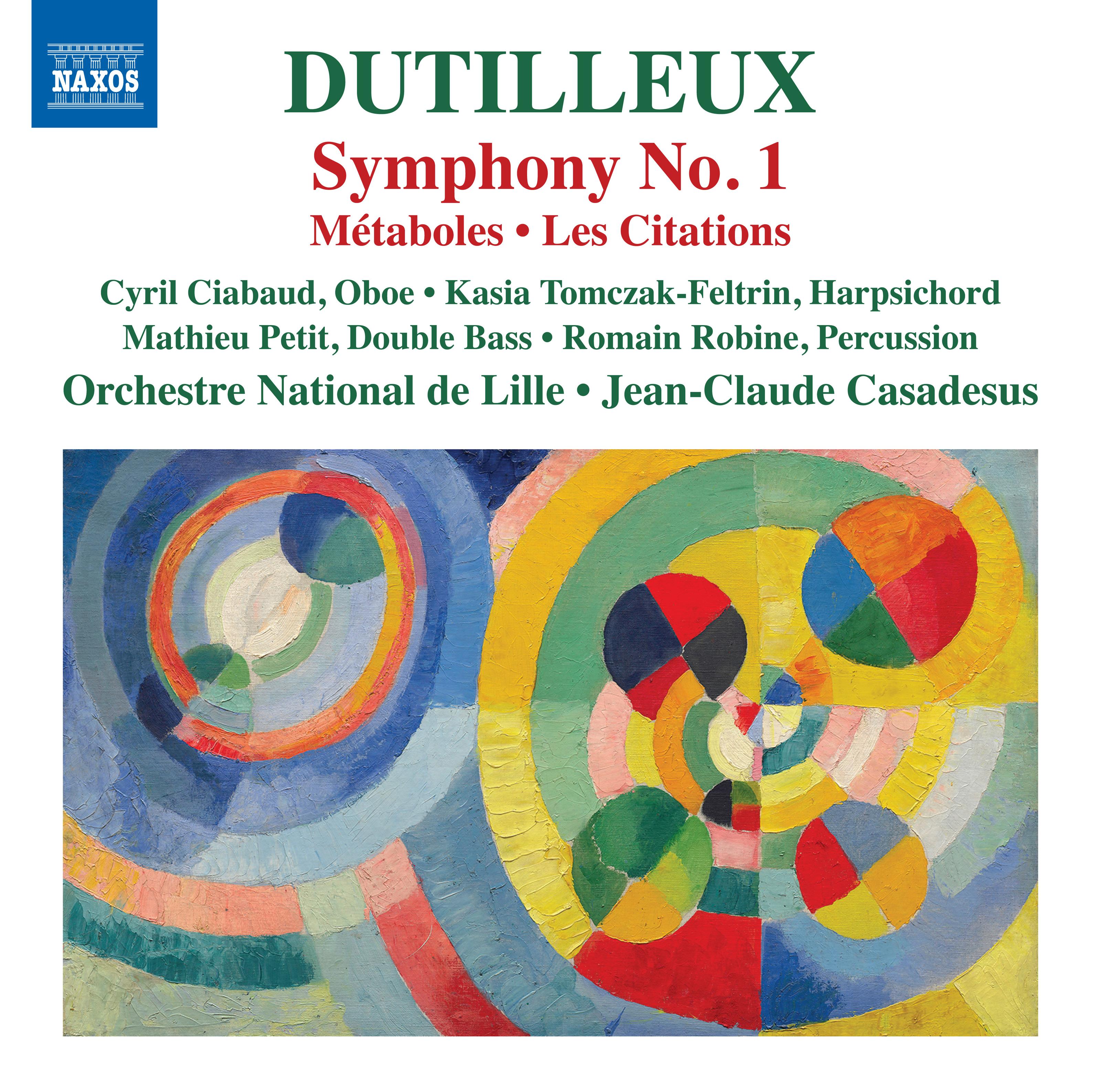 Symphony 1 / Metaboles / Les Citations
