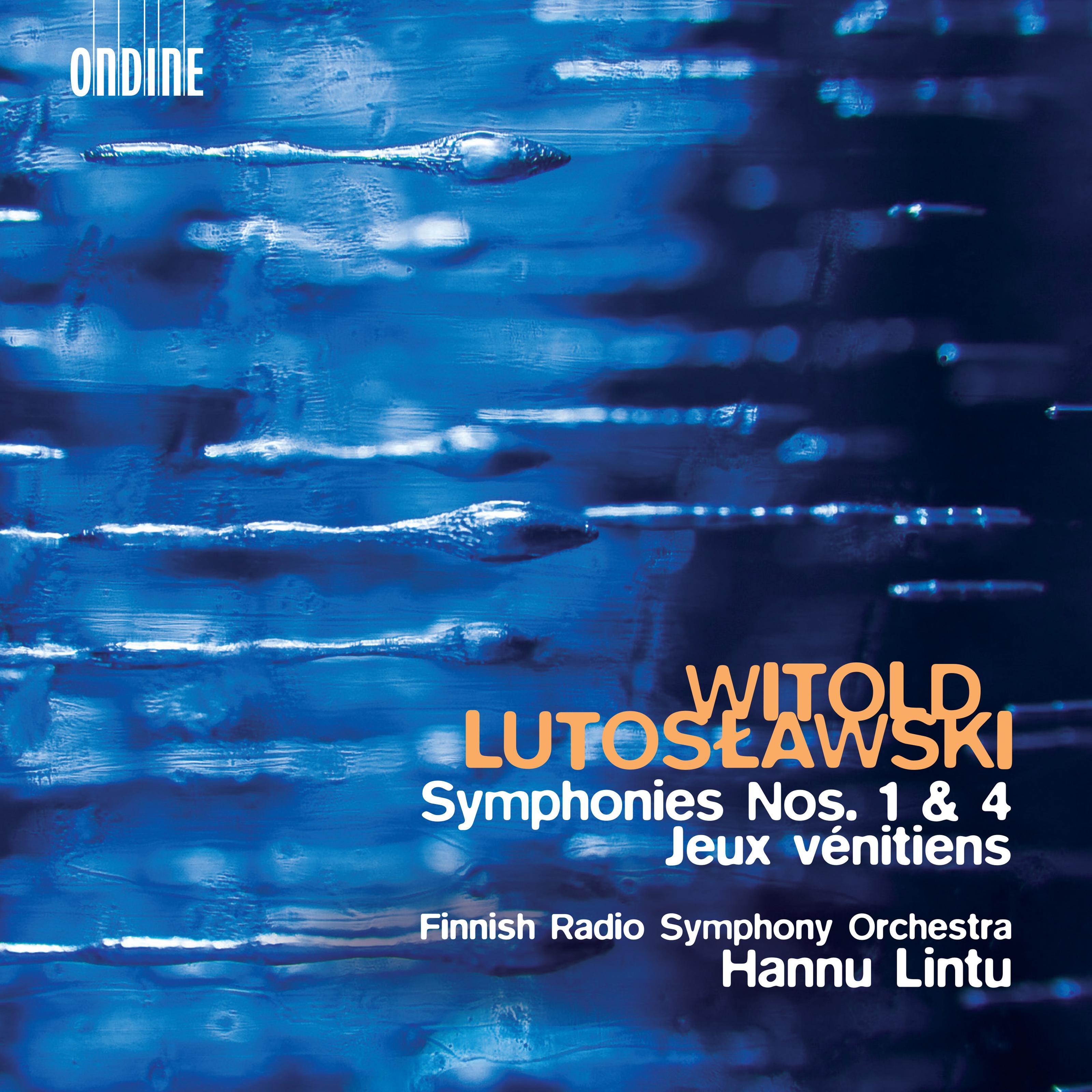 Symphonies 1 & 4 / Jeux Venitiens
