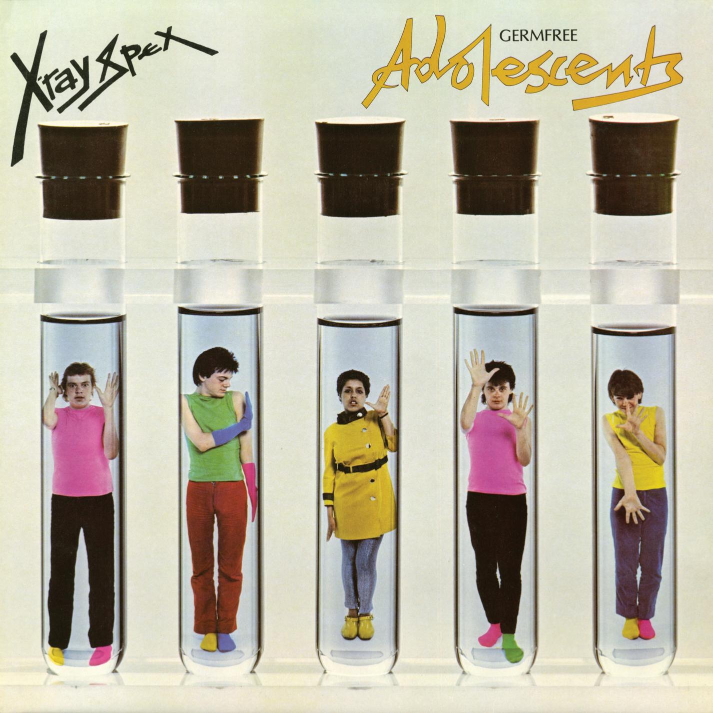 Germfree Adolescents (clear Edition) (vinyl)